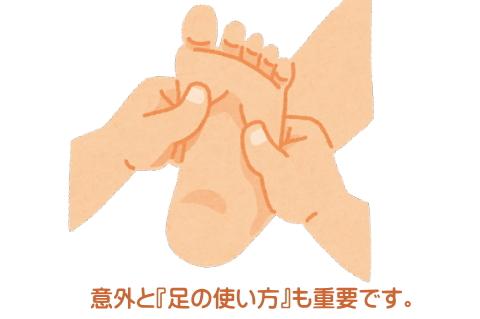 難聴と足裏の関係